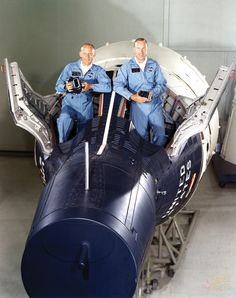 Buzz Aldrin and Jim Lovell