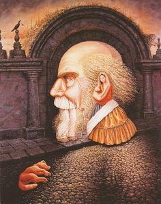 Octavio Ocampo's Metamorphic Paintings
