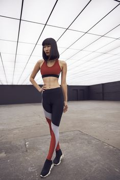 M Koral Womens Activewear Bunji Sprint Sports Bra