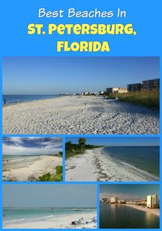 Petersburg Florida beaches to visit: Clearwater St. Pete Treasure Island Pass-a-Grille Madeira Honeymoon Island State Park and others Florida Vacation Spots, Beach Vacation Tips, Florida Beaches, Beach Trip, Honeymoon Island Florida, Sandy Beaches, Clearwater Florida, Beach Vacations, Florida Travel