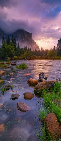 Cathedral Rock, Yosemite National Park, California | by Yinka Oyelese on 500px