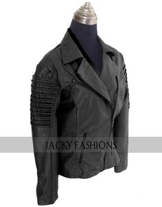 Great #biker #jacket for #womens available in black color with multi pocket with heavy duty #zippers. this outstanding womens moto jacket  at JackyFashion #onlineshop with free shipping worldwide.  #styleblogger #instagood #moda #amazing #highfashion #pretty #vanityfair #stylish #model #webstagram #photography #dresses #vogue #missuuu #summer #perfectmoment #bestfriend ##followhim #love #family #holidays #parties #happyholidays #womenfashion #fashionlover