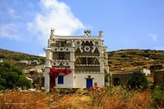 Pigeon House, Triandaros, Tinos Island Greece