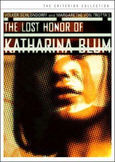 The Lost Honor of Katharina Blum / HU DVD 2013 / http://catalog.wrlc.org/cgi-bin/Pwebrecon.cgi?BBID=6595845