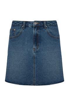Primark - Mid Blue Denim Skirt