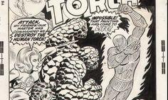 Original art - Marvel