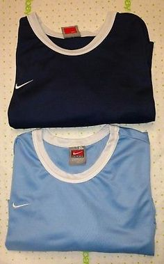 Nike Team SZ XL 18-20 Boys Shirt Sleeve Athletic Tops Lot 2 Shirts