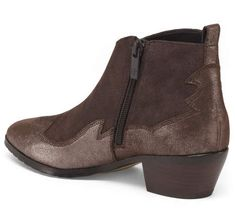 Suede Booties, Tj Maxx, Block Heels, Ankle Boots, Booty, Zip, Stylish, Fashion Design, Shopping