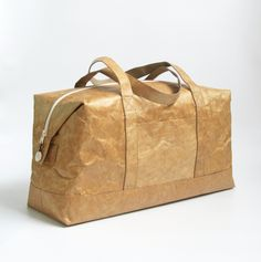 """Tyvek Paper Boston Bag ☆〜(ゝ。∂)  Get Etsy coupon codes from the Board """"My Bags and Purses"""""""