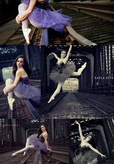I love pictures on train tracks and ballet makes it even better. Dance Senior Pictures, Ballet Pictures, Senior Pics, Ballet Dance Photography, Photography Poses, Tutu, Belly Dancing Classes, Jazz, Dance Poses