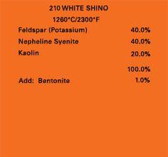 White shino