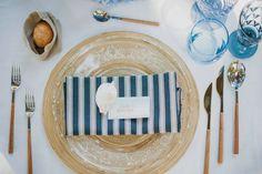 Decoracion marinera para una mesa de verano