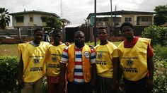 Ilupeju Achievers Lions Club (Nigeria) | Lions engaged 30 youth in reviving a community playground