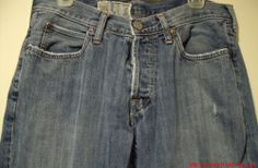 Hollister Mens Boys Denim Jeans Size 32/32 Distressed Medium Blue 4-Button Low   only $8.99!! www.stores.ebay.com/sonshinehighendjeans2013