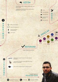 Creative CV design...