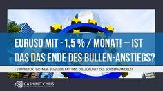 EURUSD mit -1,5 % / Monat! – ist das das Ende des Bullen-Anstiegs? + SWIPESTOX PARTNER: BEWERBE MIT UNS DIE ZUKUNFT DES BÖRSENHANDELS! #naga #thenagagroup #n4g #switex #profits #success #business #trading Video Vorschau unter: https://youtu.be/KC-N8jZEx3I