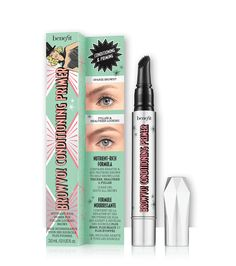 BROWVO! conditioning eyebrow primer nutrient-rich primer for fuller-looking brows. keratin and soy proteins  $28.00