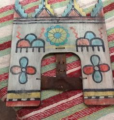Antique Pueblo or Hopi Dance Tablita Very Old Beautiful RARE   eBay