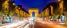 Les Champs-Elysées by night