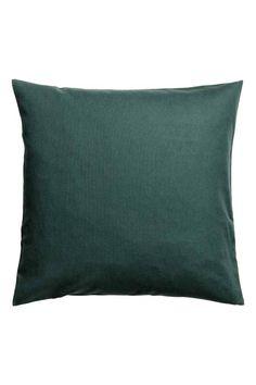 Tyynynpäällinen kanvaasia - Tummanvihreä - Home All | H&M FI 1