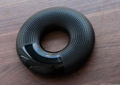 The Iriver Blank Sound Donut offers Bluetooth wireless audio streaming and has an appealing ring design with a built-in rechargeable battery that makes it easy to carry around, $99.99. http://cnet.co/LDgF7v