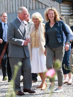 Camilla Parker Bowles Photos - The Prince of Wales & Duchess of Cornwall Visit Wales - Day 4 - Zimbio