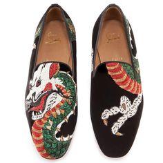 f04b75bf2c80 ... du site Web http   www.coolmenshoes.com wp-content uploads 2013 08 12 0  Christian-Louboutin-Mens-henri-flat-black-velvet-dragon-tattoo -Loafers-25-4.jpg