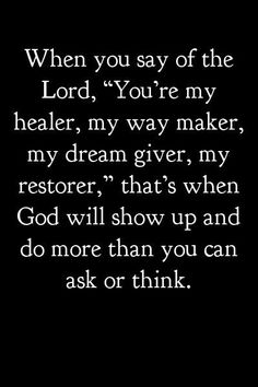 Matt 18:18 you will have whatsoever you say and believe in your heart