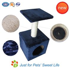 Simple Cat Tree, simple design, eco-friendly material and pure fun.