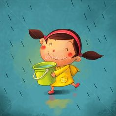 Love the cheerful clean look Of this    Xiao XIn, children's book illustrator