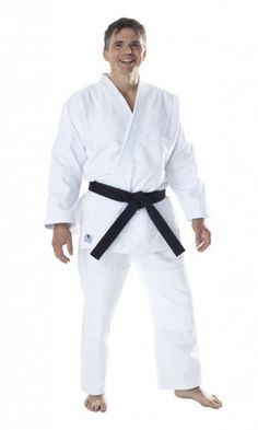 The Dax Fuji Judo uniform is perfect for adults wishing to begin training in Judo or Aikido. Its light-weight material ensures comfort during training. 100% Cotton (approx. 580g/m²) Reinforced Jacket at Shoulders, Chest and Lapel Double stitching at the knees. Features a traditional drawstring waistband Shrinkage rate: 7% Supplied with a white belt