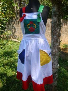 Saia em brim leve 100% algodão, não é transparente, em todos os tamanhos, enviamos para todo o brasil. Na encomenda pediremos as segui... Unif, Children, Kids, Sewing Crafts, Clothes, Aprons, Fashion, Kids Ministry, Teacher Apron