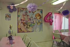 Sofia the First Birthday Party Ideas   Photo 1 of 19