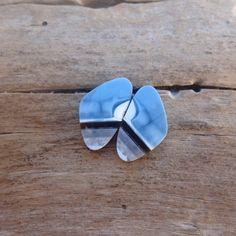 Pair Blue Opal cabochons 27 x 14 x 3 mm. Chakra Crystals, Chakra Stones, Stones And Crystals, Jet Stone, Phantom Quartz, Red Jasper, Green Aventurine, Blue Opal, Clear Crystal