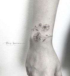 """Résultat de recherche d'images pour """"fleur anemone tatouage"""""""
