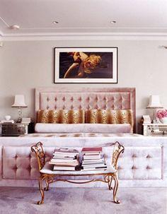 Bedroom interior design and decor ideas_ feminine - Fox Naham Interior Design Greenwich Residence