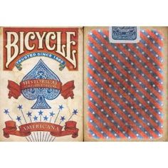 Bicycle Americana Playing Cards Bicycle Cards, Buy Bicycle, Bicycle Playing Cards, Old West, Deck Of Cards, 4th Of July, Old Things, Inspiration, Design