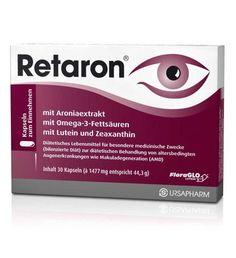 Retaron x 30 capsules, eye vitamins