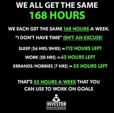 I don't have time* should not be an excuse to do something great 👊 . Credits 🌌 The Positive Vibe Movement 🌌 Self Help Ebook 📔 🌠 - Life With Confidence 💎 ✔️ 👉. Sport Motivation, Study Motivation Quotes, Business Motivation, Business Quotes, Quotes Dream, Life Quotes Love, Wisdom Quotes, Robert Kiyosaki, Motivational Quotes