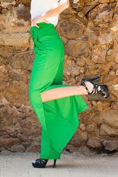 chiglo pantaloni verdi