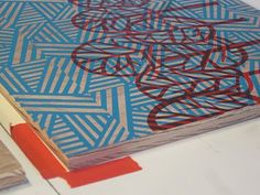 Screen Printed Wood Panels — CuriousDoodles