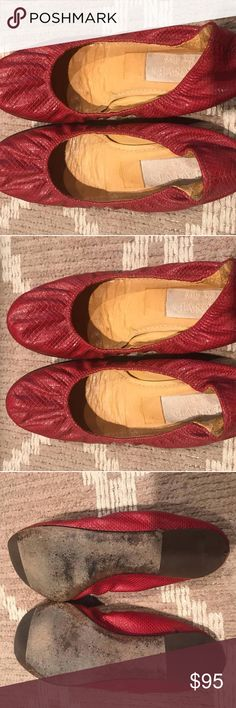 0a5ea088f793 Size 36 1 2. Includes box. Price   95 original price  400  lanvinshoes   lanvin  redsnakeskin  ballerinaflats  reynidayz  depop  poshmark  sale  Lanvin Shoes ...