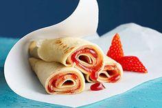 Strawberry Cheesecake Pancakes Recipe - Kraft Canada