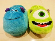 slippers of sulley and mike