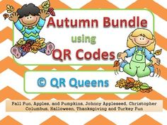 Best deals are our bundles! Great for centers or early finishers! Use with Ipads, tablets, iPods! Five of our QR Code products for more than 50% off (if bought in singles) in a Bundle using QR Codes K-2 $