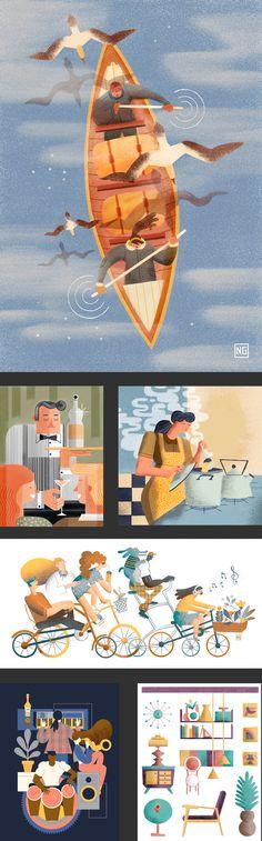 https://www.behance.net/gallery/29361161/Algunas-Ilustraciones-Some-Illustrations