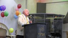Capilla Del Rey: Juan Romero [Predicador, Cantante Internacional, y Siervo de Dios] predicando en el homenaje para el Dr. Luis Ángel Diaz-Pabon y la Biblia Del Pescador.