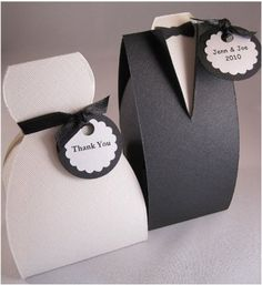 Wedding boxes.