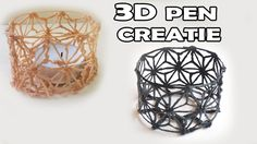 3D PRINTER PEN CREATION WATCH ME MAKE A CANDLE HOLDER - YouTube