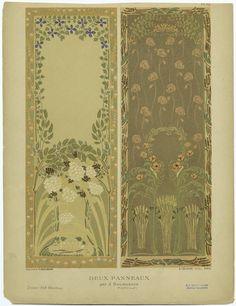 Deux panneaux / par J. Bougeois - ID: 818614 - NYPL Digital Gallery
